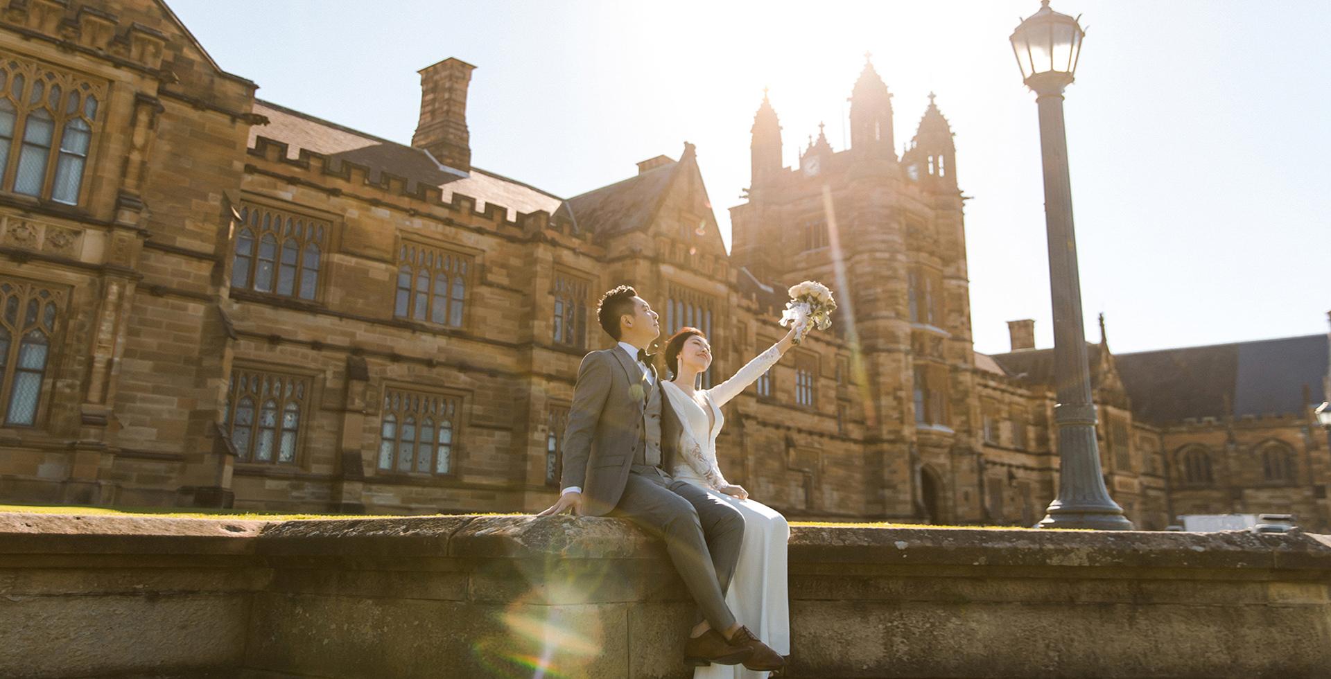 悉尼婚纱摄影,悉尼网红婚纱拍摄点,网红旅拍婚纱照