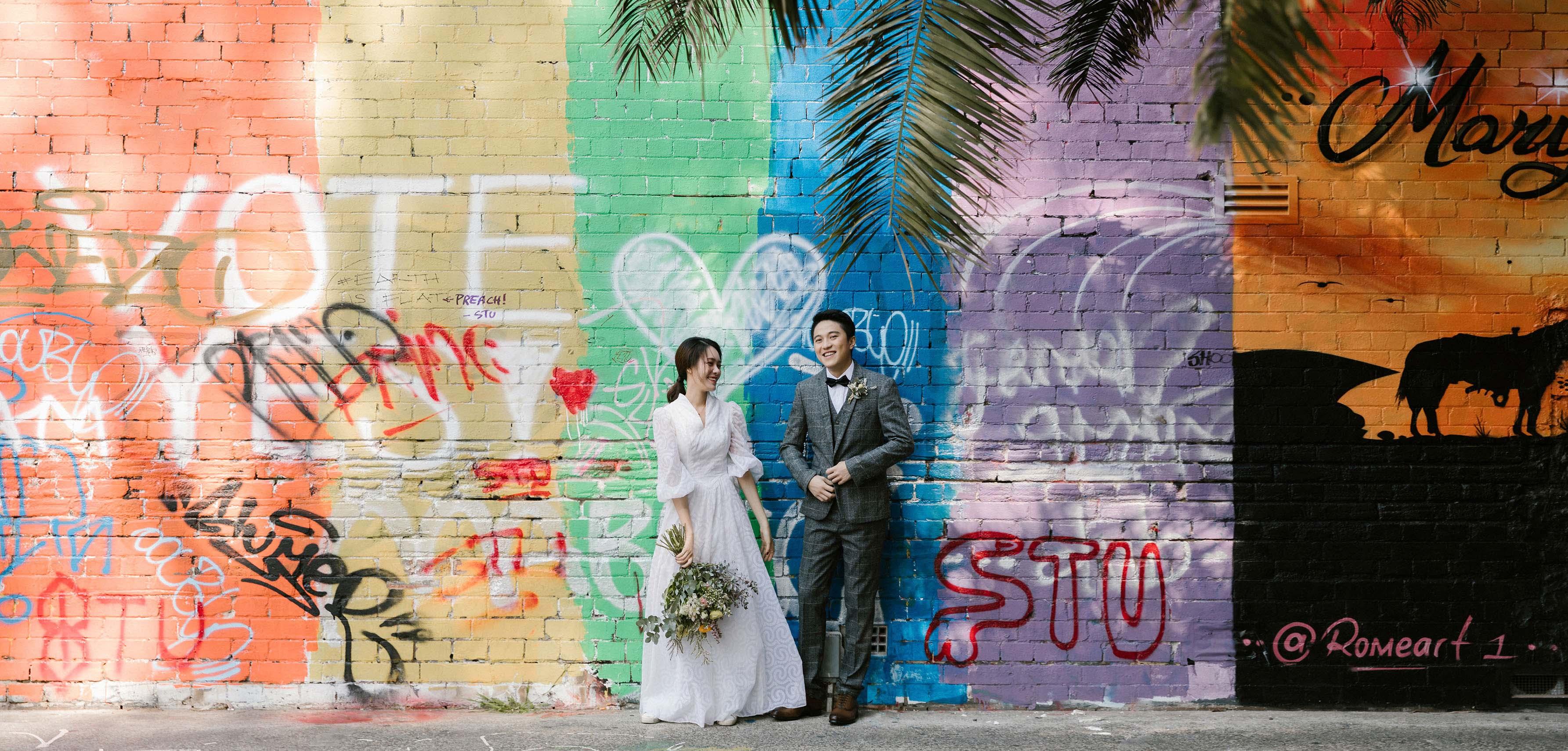 悉尼婚纱照,悉尼婚纱旅拍,澳大利亞婚紗攝影